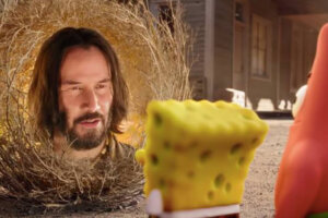 How Keanu Reeves Ended Up In SpongeBob: Sponge On The Run