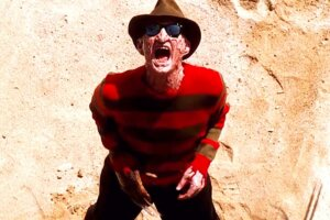 "JoBlo: NIGHTMARE ON ELM STREET 4 ""Krueger Beach Scene"" (1988) Robert Englund"