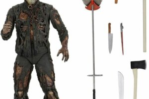 NECA Shows Off Brand New Images of Their Upcoming 'New Blood' Jason Voorhees Action Figure