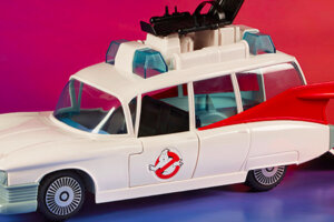 'Slash Film: Cool Stuff:  Hasbro is Re-Releasing 'The Real Ghostbusters' Ecto-1 Toy Vehicle'