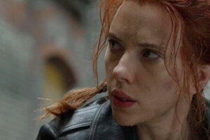 """'Slash Film: Disney CEO Says Theatrical Release Plans for Movies Like 'Black Widow' Will Be """"Last Minute"""" Decisions'"""