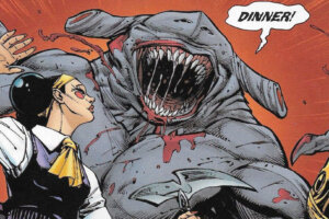 'Slash Film: 'The Suicide Squad': James Gunn Explains Why His Version of King Shark Isn't a Hammerhead'