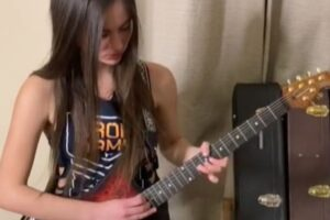 This 17-year-old TikTok shredder has given a Foo Fighters hit the blazing solo it deserves
