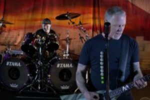 Watch Metallica celebrate the 35th anniversary of Master Of Puppets with blistering TV performance of Battery