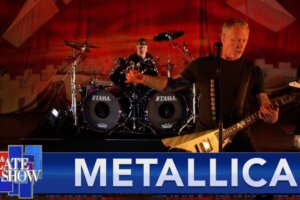 """Watch METALLICA Perform """"Battery"""" Live on The Late Show With Stephen Colbert"""