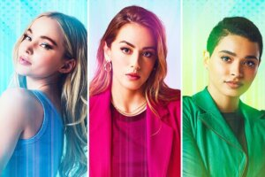 'Coming Soon: Bennet, Cameron & Perrault are The Powerpuff Girls in First-Look Photo'