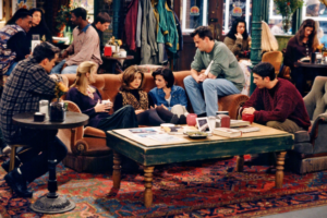 'Coming Soon: Friends Unscripted Reunion Special to Tape Next Week!'
