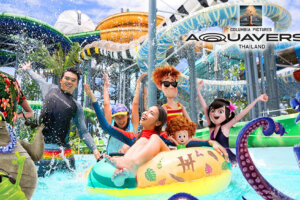 'Coming Soon: Ghostbusters & Jumanji Rides Set For Columbia Pictures Aquaverse Park'
