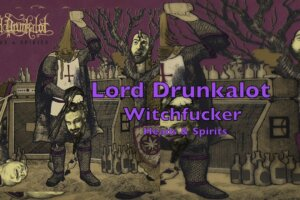 Doomed Nation – Lord Drunkalot premiere a music video for »Witchfucker« off their debut album »Heads & Spirits«, out tomorrow via Planet K Records