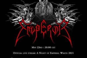 EMPEROR Announces Anniversary Livestream Show With Ex-Members Mortiis & Faust