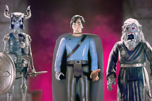 Hail to the King, Baby: New 'Army of Darkness' ReAction Figures Now Available from Super7