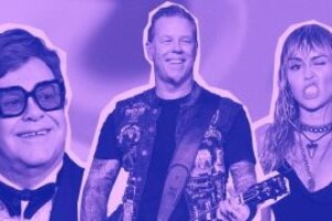 Here are 8 things Metallica could be working on with Miley Cyrus and Elton John