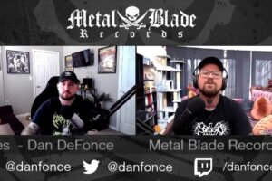 'Metal Blade : Metal Blade Live Series w/ Daniel DeFonce of Continental Touring & Devastation On The Nation Tour'