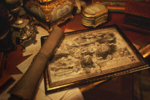 New 'Resident Evil Village' Art Reveals Game's Map, New Character