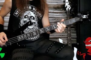'Nuclear Blast : BEAST IN BLACK – Blind And Frozen (OFFICIAL BASS PLAYTHROUGH)'