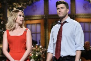 Scarlett Johansson Reveals The Goal Behind Her And Colin Jost's COVID Era Wedding