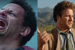 Seth Rogen Reacts To Eric Andre's Bad Trip On Netflix And, Yes, There's An F-Bomb Involved