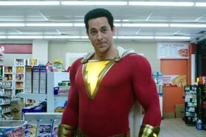 Shazam's Zachary Levi Is Back In The Gym For Fury Of The Gods And There's Video