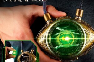 'Slash Film: Cool Stuff: Grab Marvel's Eye of Agamotto Prop Replica Without Tangling with Doctor Strange'