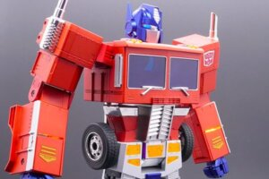 'Slash Film: Watch: This $700 Optimus Prime Toy is More Than Meets the Eye (Because It Self-Transforms)'