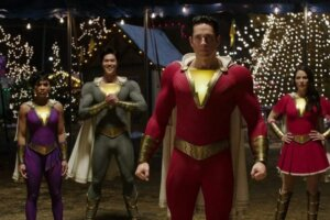 'Coming Soon: Shazam! Fury of the Gods Set Photos Show Zachary Levi in New Suit'