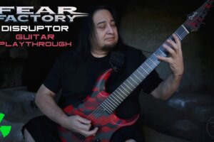 'Nuclear Blast : FEAR FACTORY – Disruptor (OFFICIAL GUITAR PLAYTHROUGH)'
