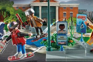 'Slash Film: Cool Stuff:  Playmobil is Releasing Even More 'Back to the Future' Playsets'