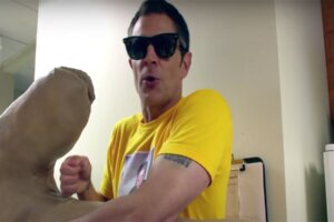 The Sweet Text Message Steve-O Sent Johnny Knoxville During His Last Jackass-Related Hospitalization