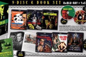 9-Disc Christopher Lee Eurocrypt Box Set Arrives Later This Month