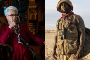 'Coming Soon: Borderlands Movie First-Look Photos of Kevin Hart, Jamie Lee Curtis & More'