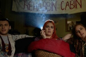 'Coming Soon: Exclusive Rehab Cabin Trailer: Catch a Falling Star in Kate Beacom's New Comedy'