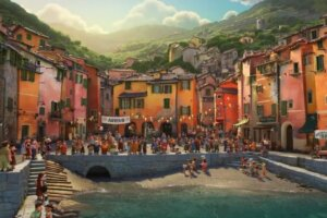 'Coming Soon: New Luca Featurette Takes Us to the Fictional Town of Portorosso'