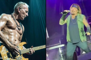 """DEF LEPPARD Guitarist On VINCE NEIL's Lackluster Recent Performance: """"He's Got a Year To Go"""""""