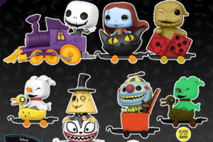 Funko Pop! Introduces 'A Nightmare Before Christmas' Train Set!