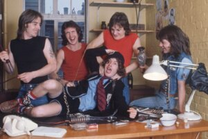 How AC/DC conquered the world from the back of a van