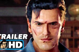 JoBlo: EVIL DEAD: THE GAME Gameplay Trailer (2021) Bruce Campbell