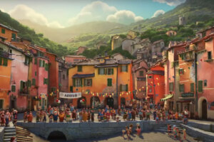 'Slash Film: 'Luca' Behind-the-Scenes Video Gives You a Nostalgic Look at Pixar's Italian Summer'