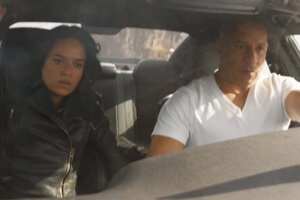 'Slash Film: Vin Diesel Makes a Car Swing Like Spider-Man in This Ridiculous 'F9' Clip'