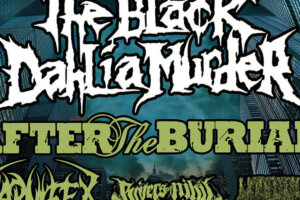 Tour Alert! The Black Dahlia Murder, After the Burial, Carnifex, Rivers of Nihil and Undeath   MetalSucks