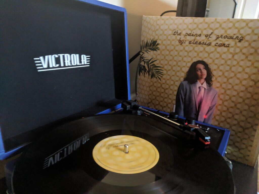 Vinyl came in today!