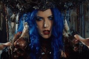 Watch Arch Enemy's Alissa White-Gluz front Powerwolf for new Demons Are A Girl's Best Friend video