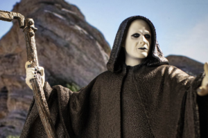 'Bill and Ted's Bogus Journey': 30th Anniversary Death Statue from Incendium Now Available for Pre-Order! [Exclusive]