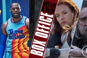 'Coming Soon: Box Office: LeBron James' Space Jam Dunks Over Black Widow'