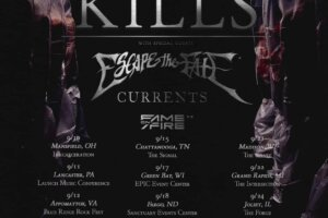 ICE NINE KILLS Announces Tour With BAD OMENS, CURRENTS & FAME ON FIRE