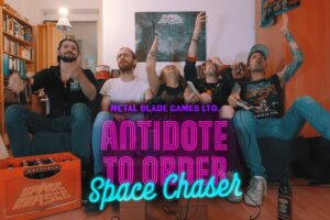 'Metal Blade : Space Chaser – Antidote to Order (OFFICIAL VIDEO)'