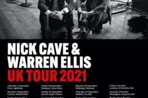 Nick Cave to tour the UK with Bad Seeds' Warren Ellis in September/October