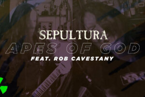 'Nuclear Blast : SEPULTURA – Apes of God feat. Rob Cavestany (Live SepulQuarta Sessions Music Video)'