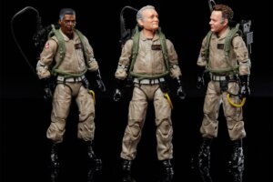 'Slash Film: 'Ghostbusters: Afterlife' Toys Give a First Look at the Aged Team and a New Kind of Terror Dog'