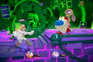 'Coming Soon: Nickelodeon All-Star Brawl Adds Ren & Stimpy to Roster'