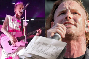 Corey Taylor Strikes Back with Receipts After MGK Called Taylor Bitter For A Rejected Guest Spot